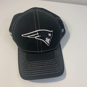 New England Patriots Black fitted hat